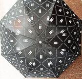 現貨💥BTS防彈少年團 回歸 塗鴉  黑膠遮陽傘 折傘 雨傘 摺疊傘E799-C【玩之內】韓國
