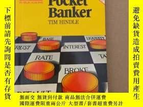 二手書博民逛書店The罕見Economist Pocket Banker 英文原