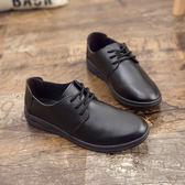 黑色皮鞋便宜皮鞋防水防油【熊貓本】