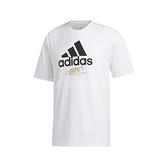 adidas 短袖T恤 Taipei Shirts 白 黑 男款 短T 城市T 台北 運動休閒 【ACS】 GJ0294