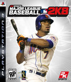 PS3 Major League Baseball 2K8 職棒大聯盟 2K8(美版代購)