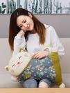 【免運】玩偶 ins風抱枕 毛絨玩具 招財貓靠枕 造型公仔 布娃娃 布偶 臥室裝飾 可拆洗靠墊