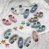 雙十二狂歡購  復古單鞋18春季新款兒童帆布鞋女童軟底童鞋男童唐裝漢服配套鞋 小巨蛋之家