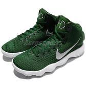 【四折特賣】Nike Wmns Hyperdunk 2017 TB 綠 白 高筒 React 中底科技 籃球鞋 運動鞋 女鞋【PUMP306】 897813-300