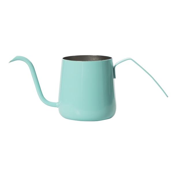 金時代書香咖啡 AKIRA 不銹鋼細口手沖壺 230ml 粉綠色 C11-GN (是否有貨請詢問LINE@客服人員)