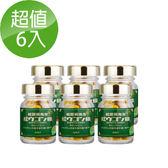 【即期良品】紅薑黃先生京都版 30顆/瓶X6
