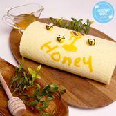 糖果貓烘焙.蜂蜜好棒棒蛋糕捲(420g/條)﹍愛食網