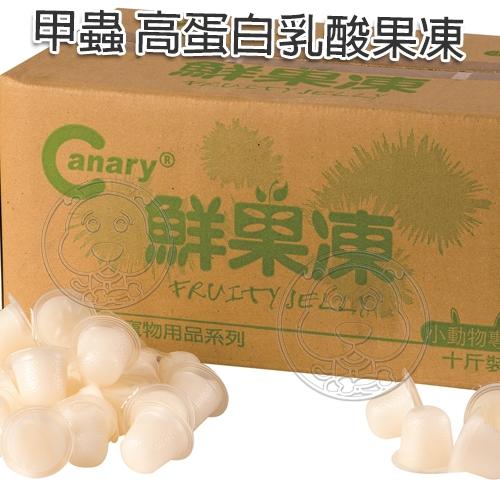 【培菓寵物48H出貨】Canary A-S356《甲蟲》黑糖蜂蜜果凍 高蛋白乳酸果凍-1粒入