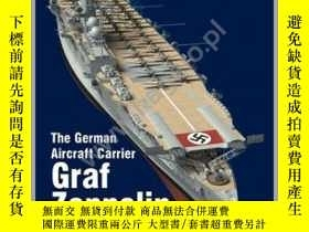 二手書博民逛書店Super罕見Drawings. 16045. The German Aircraft Carrier Graf