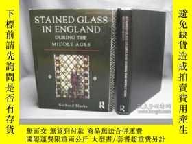 二手書博民逛書店Stained罕見Glass in England During