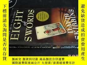 二手書博民逛書店EIGHT罕見OF SWORDS DAVID SKIBBINS5
