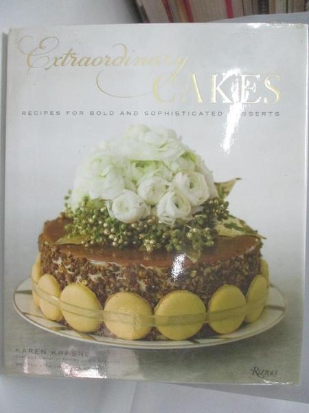 【書寶二手書T1/餐飲_DEG】Extraordinary Cakes-Recipes for Bold and..._Krasne