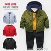 男童加厚夾克外套棉衣2017新款冬季秋冬裝童裝兒童寶寶韓版小童潮·蒂小屋