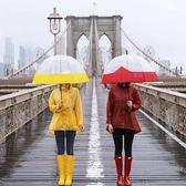雨鞋 ins超火夏季防水雨靴女士膠鞋時尚水靴防滑戶外成人高筒雨鞋女 中秋烤盤88折爆殺