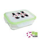 KUMAMON熊本熊 長方形玻璃密扣式保鮮盒 950ml [大番薯批發網 ]