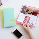 【03600】戀人微笑名片冊 120個卡位 小卡包 收納冊 收藏冊