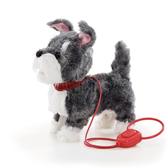 獨家品牌animal alley寵物王國 電動寵物散步狗-灰白