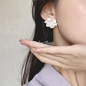 古風復古花朵無耳洞女ins耳夾耳環新款2021年冷淡風網紅耳飾耳釘 快速出貨