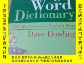 二手書博民逛書店)The罕見Wrong Word DictionaryY307948 Dave Dowling Castle