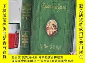 二手書博民逛書店1874年,精裝插圖本,著名童話故事《favourite罕見ta