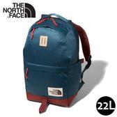 【The North Face 22L 13吋電腦背包《藍/紅》】3KY5/多功能休閒背包/電腦背包/學生書包