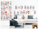 【ARDENNES】創意組合DIY壁貼/牆貼/兒童教室佈置(大) 夢幻叢林