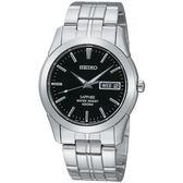 【人文行旅】SEIKO | 精工錶 SGG715J1 時尚風範藍寶石鏡面腕錶