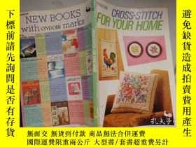 二手書博民逛書店Ondori罕見CROSS-STITCH FOR YOUR HO