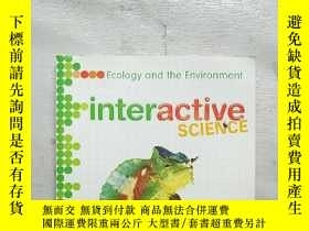 二手書博民逛書店interactive罕見SCIENCE Ecology and