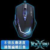 [富廉網]【FOXXRAY】怒焰獵狐電競滑鼠 FXR-SM-11 黑
