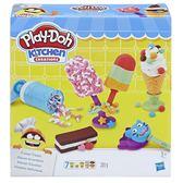 《 Play-Doh 培樂多 》廚房系列 - 美味冰品組 ╭★ JOYBUS玩具百貨