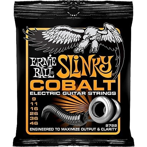 ☆ 唐尼樂器︵☆美國原裝 Ernie Ball 2722 COBALT SLINKY (09-46) 電吉他鈷弦