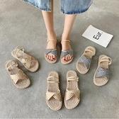 兩穿涼鞋女仙女風潮新款夏季學生百搭平底時尚舒適羅馬鞋 - 風尚3C