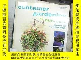 二手書博民逛書店CONTAINER罕見GARDENING 容器園藝 (03)Y1