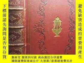 二手書博民逛書店1857年罕見THE POETICAL WORKS OF ROB