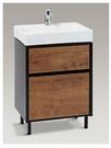 【麗室衛浴】 美國KOHLER活動促銷 K-96120T-1-0 一體面盆+K-20019T-H14 多功能浴櫃 數量有限