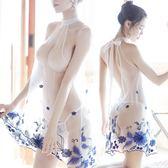 情趣內衣  性感情趣內衣新娘裝開檔睡衣午夜魅力三點式透視露毛激情套裝女騷 科技藝術館