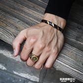 戒指古風高橋印第安風太陽飛鷹圖騰戒指 鈦鋼情侶對戒復古男女創意戒指環  凱斯盾數位3c
