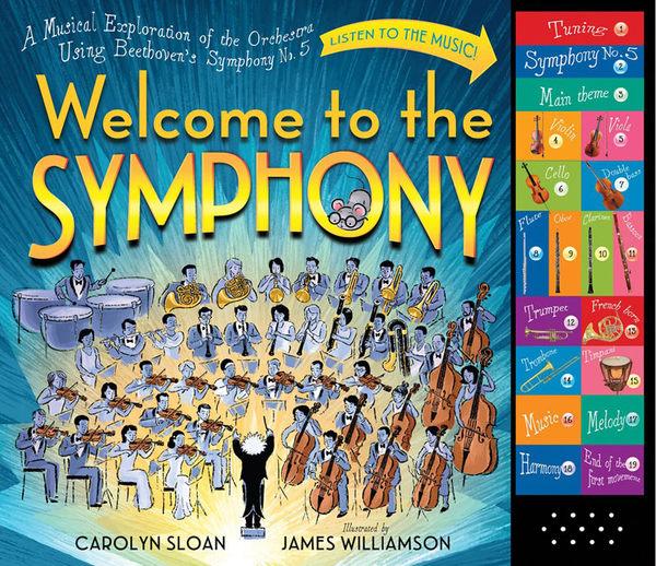 WELCOME TO THE SYMPHONY/聲音書《主題:交響樂.藝術.音樂》