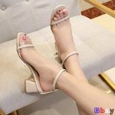 貝貝居 楔型涼鞋 涼鞋 厚底 鬆糕涼鞋 高跟 坡跟女鞋