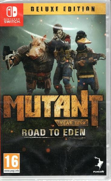 【玩樂小熊】現貨中 Switch遊戲 NS 突變元年 伊甸園之路 Mutant Year Zero 簡中文版