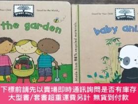 二手書博民逛書店In罕見the Garden[Board Book+Baby Animals 2本合售Y21921 Ikids