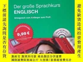 二手書博民逛書店德國原版進口罕見PONS Der große Sprachkur