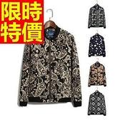 棒球夾克男外套-保暖棉質風靡時尚拼接英倫風時髦自信6色59h11[巴黎精品]