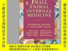 二手書博民逛書店Manual罕見of Small Animal Internal Medicine-小動物內科學手冊Y3617