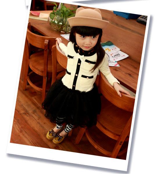 *╮小衣衫S13╭*香奈兒公主紗裙洋裝1010948