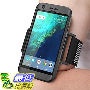 [美國直購] SUPCASE Google Pixel 5.0吋 黑色 [Unicorn Beetle PRO Series] 運動臂套 臂帶手機殼 保護殼