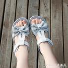 女童運動涼鞋2020新款夏季兒童小公主鞋網紅爆款中大童軟底沙灘鞋 科炫數位