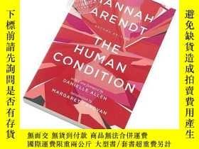 二手書博民逛書店The罕見Human Condition 英文原版 漢娜·阿倫特:人的境況(第二版)Hannah Arendt