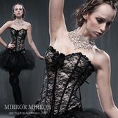 馬甲 巴黎奢華黑誘惑塑身馬甲-束身、表演服_蜜桃洋房